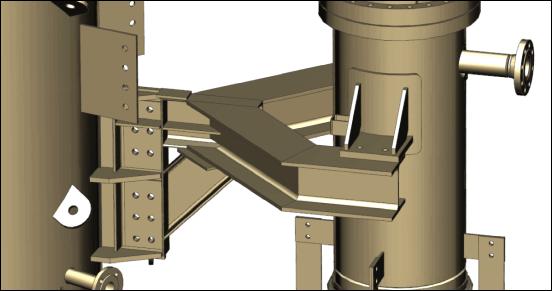 CAD-Modell einer Konsole